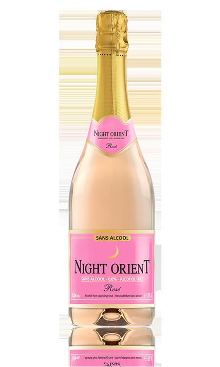 Rosé Champagne sans alcool