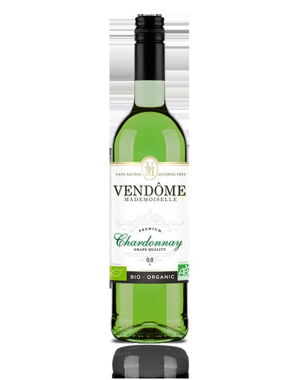 Bouteille de vin sans alcool