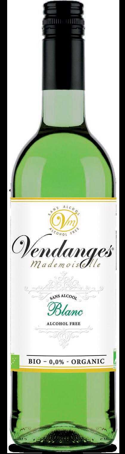 Vendange withe wine alcohol free
