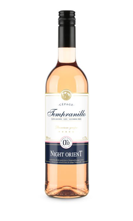 Night Orient vin rose sans alcool